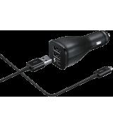Автомобильное зарядное устройство Samsung Fast Charger Dual USB CLA (EP-LN920CBEGRU)