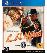 Игра L. A. Noire для Sony PS 4 (русские субтитры)