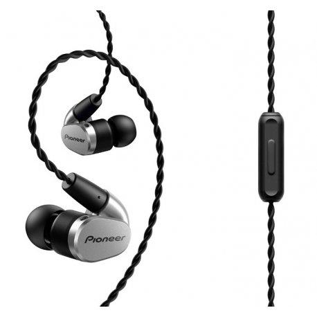 Pioneer SE-CH5T Wireless Stereo Headphones (SE-CH5T-K) Silver