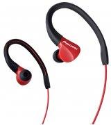 Pioneer SE-E3 Stereo Headphones (SE-E3-R) Red
