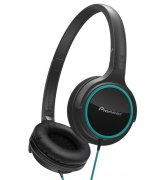 Pioneer SE-MJ512 Headphones (SE-MJ512-GK) Black-Green