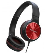 Pioneer SE-MJ532 Headphones (SE-MJ532-R) Black-Red