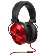 Pioneer SE-MS5T Headphones (SE-MS5T-R) Red