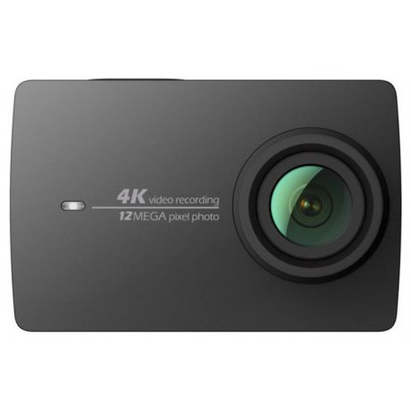 Экшн-камера Xiaomi YI 4K Black + Remote control button (International Edition)