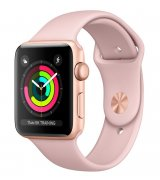 Apple Watch Series 3 38mm (GPS) Gold Aluminum Case with Pink Sand Sport Band (MQKW2LL/A)