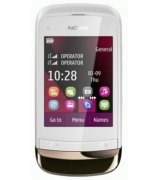 Nokia C2-03 Touch and Type Dual SIM Golden White