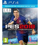 Игра Pro Evolution Soccer 2018 (PES 2018) - Premium Edition для Sony PS 4 (русские субтитры)