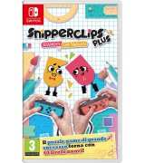 Игра Snipperclips Plus: Cut it out, together! для Nintendo Switch (английская версия)