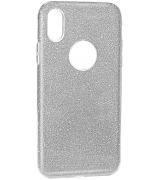 Чехол Usams Bling для iPhone X Silver