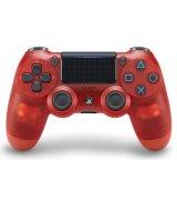 Беспроводной джойстик Dualshock 4 V2 Crystal Red (PS4)