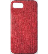 Чехол Jeans 7 Plus/ 8 Plus Case Red