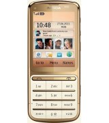 Nokia C3-01.5 Touch and Type Gold Edition