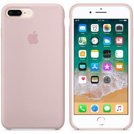 Чехол Apple iPhone 8 Plus/ 7 Plus Silicone Case Pink Sand (MQH22)