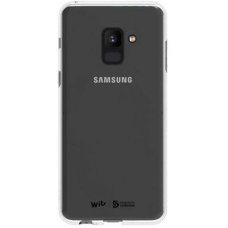 Накладка Wits Soft Clear Cover для Samsung Galaxy A8 Plus (2018) Transparent (GP-A730WSCPAAA)