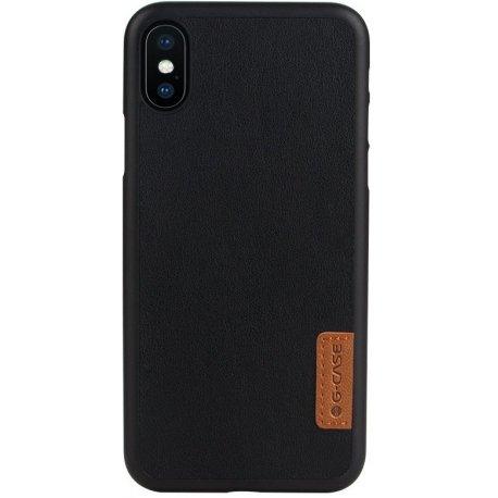 Чехол G-Case Dark Series для iPhone X Black