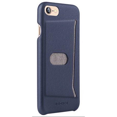 Чехол G-Case Jazz Series with Card Slot для iPhone 7/8 Blue