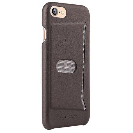 Чехол G-Case Jazz Series with Card Slot для iPhone 7/8 Brown