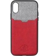 Чехол Polo для iPhone X Tasche Red
