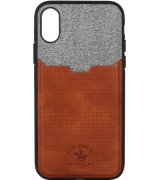 Чехол Polo для iPhone X Tasche Brown