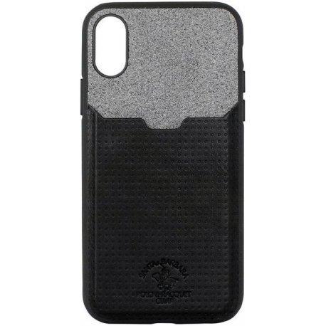 Чехол Polo для iPhone X Tasche Black