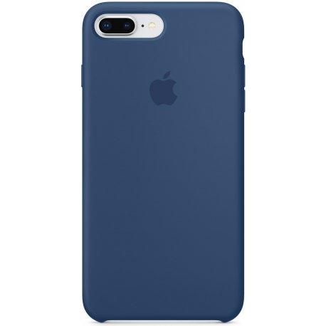 Чехол Apple iPhone 8 Plus/ 7 Plus Silicone Case Blue Cobalt (MQH02)