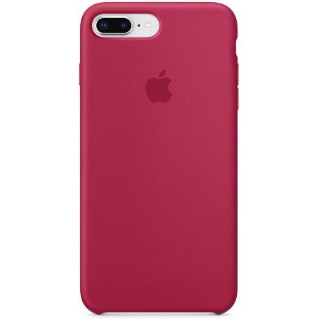 Чехол Apple iPhone 8 Plus/ 7 Plus Silicone Case Rose Red (MQH52)