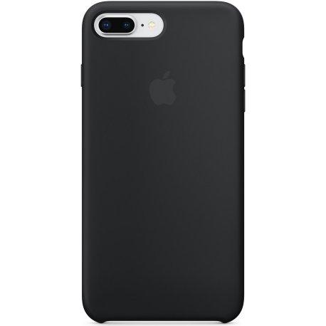 Чехол Apple iPhone 8 Plus/ 7 Plus Silicone Case Black (MQGW2)