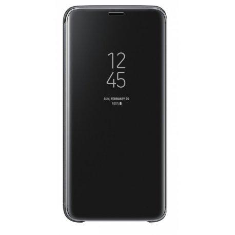 Чехол Clear View Standing Cover для Samsung Galaxy S9 Black (EF-ZG960CBEGRU)