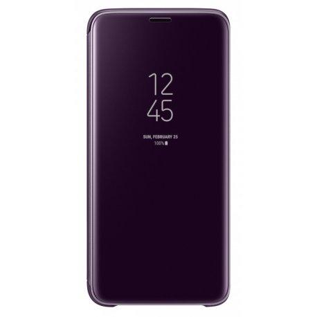 Чехол Clear View Standing Cover для Samsung Galaxy S9 Orchid Grey (EF-ZG960CVEGRU)