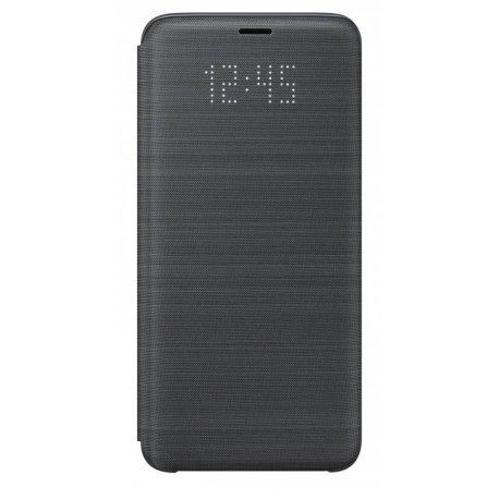 Чехол LED View Cover для Samsung Galaxy S9 Black (EF-NG960PBEGRU)