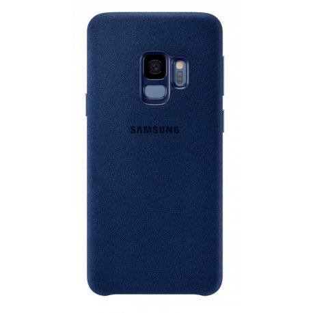 Накладка Alcantara Cover для Samsung Galaxy S9 Blue (EF-XG960ALEGRU)