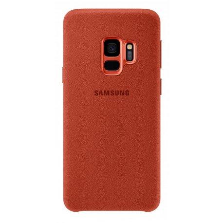 Накладка Alcantara Cover для Samsung Galaxy S9 Red (EF-XG960AREGRU)