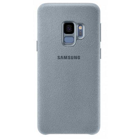 Накладка Alcantara Cover для Samsung Galaxy S9 Mint (EF-XG960AMEGRU)
