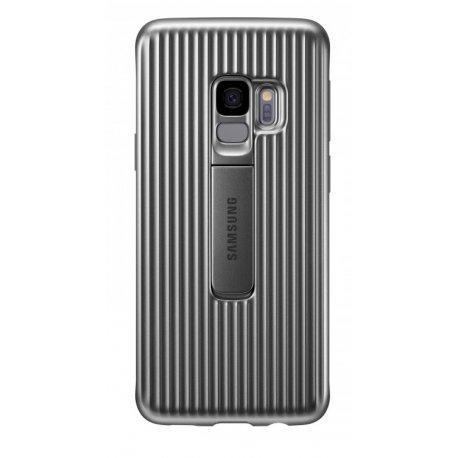 Чехол Protective Standing Cover для Samsung Galaxy S9 Silver (EF-RG960CSEGRU)