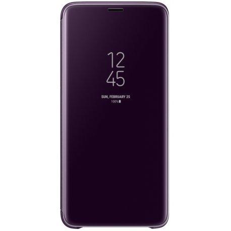 Чехол Clear View Standing Cover для Samsung Galaxy S9 Plus Orchid Gray (EF-ZG965CVEGRU)