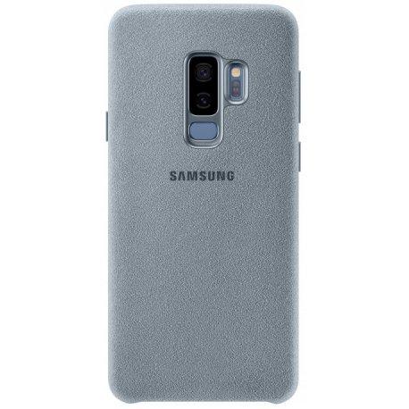Накладка Alcantara Cover для Samsung Galaxy S9 Plus Mint (EF-XG965AMEGRU)