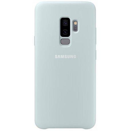 Накладка Silicone Cover для Samsung Galaxy S9 Plus Blue (EF-PG965TLEGRU)