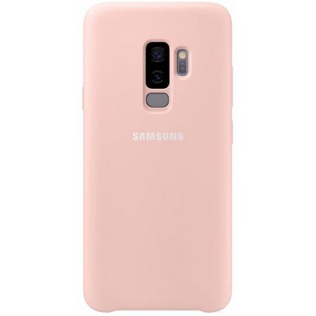 Накладка Silicone Cover для Samsung Galaxy S9 Plus Pink (EF-PG965TPEGRU)