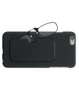 Очки для чтения Thinoptics +2.00 Черные + Чехол iPhone 6/6S Plus Черный (2.0BBI6P)