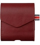 Чехол I-Smile Leather Case для Apple AirPods Red