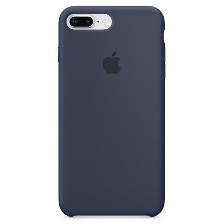 Чехол Apple iPhone 8 Plus/ 7 Plus Silicone Case Midnight Blue (MQGY2)