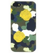 Накладка Tucano Brio Camouflage для Apple iPhone 5S/5SE Green