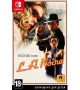 Игра L.A. Noire для Nintendo Switch (русские субтитры)