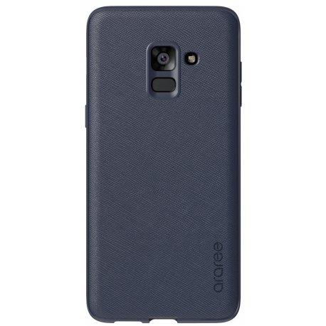 Накладка Araree Silicon Cover для Samsung Galaxy A8 Plus (2018) Midnight Blue (GP-FA730KDCPBAB)