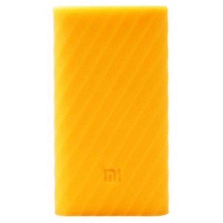 Чехол Silicone Case для Xiaomi Power Bank 2 10000 mAh Orange