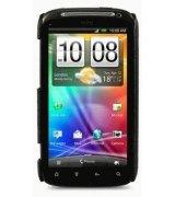 Кожаная накладка Melkco для HTC Sensation Z710e/Z715e XE Black