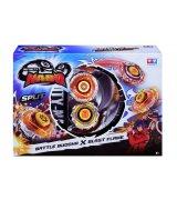 Волчок с пусковым устройством Auldey Infinity Nado Серия Сплит Battle Buddha та Blast Fla (YW624601)