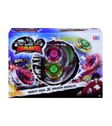 Волчок с пусковым устройством Auldey Infinity Nado Серия Сплит Night Owl та Razer Orochi (YW624604)