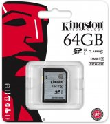 Карта памяти Kingston SDXC 64GB Class 10 UHS-I (SD10VG2/64GB)