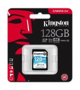 Карта памяти Kingston SDXC 128GB Canvas Go! Class 10 UHS-I U3 (SDG/128GB)